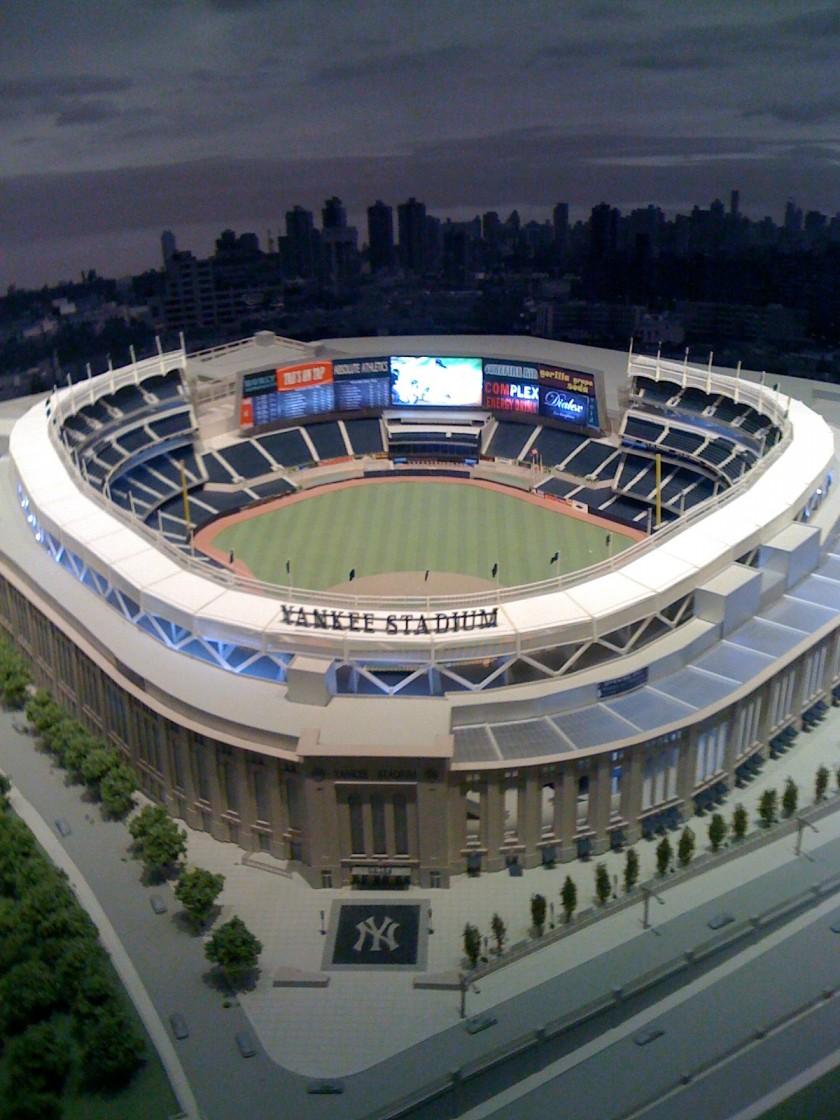 Yankee Stadium Model Yankee Museum Robert Accettura S