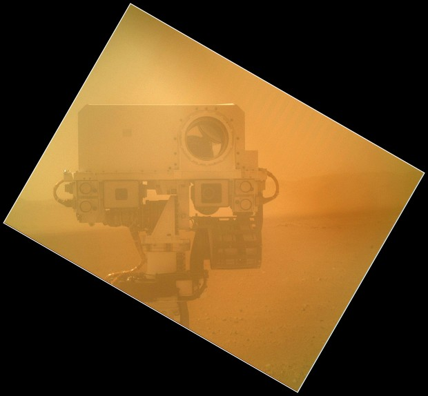 Mars Curiosity Self Shot