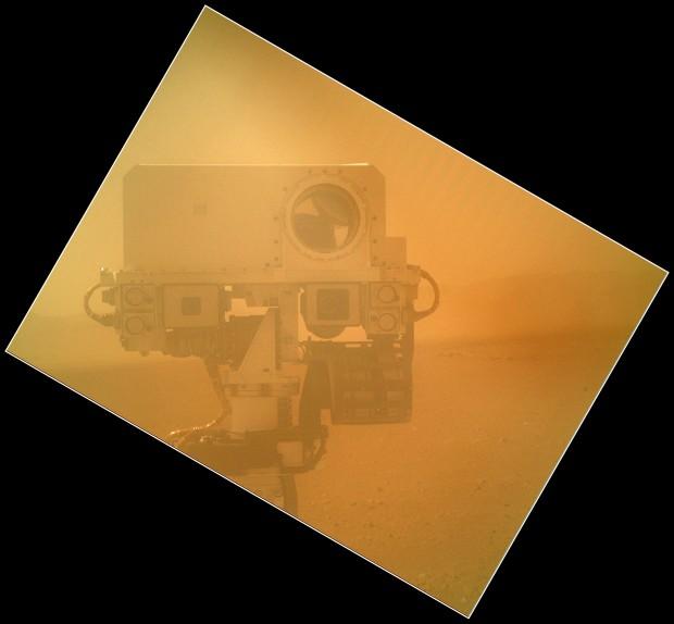 Mars Curiosity Self Shot