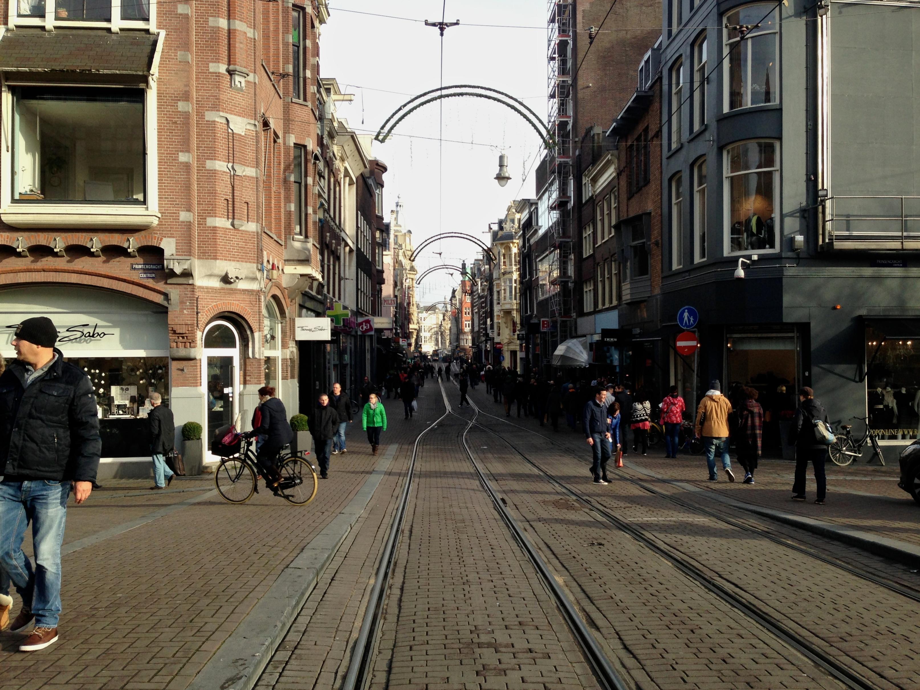 Walking down the street - 5 1