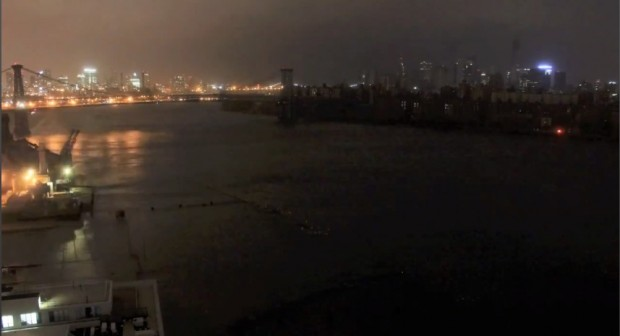 Hurricane Sandy Time Lapse