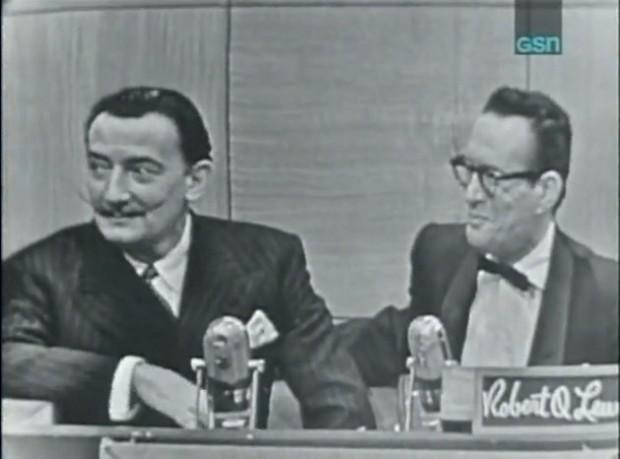 Salvador Dali Mustache TV game show