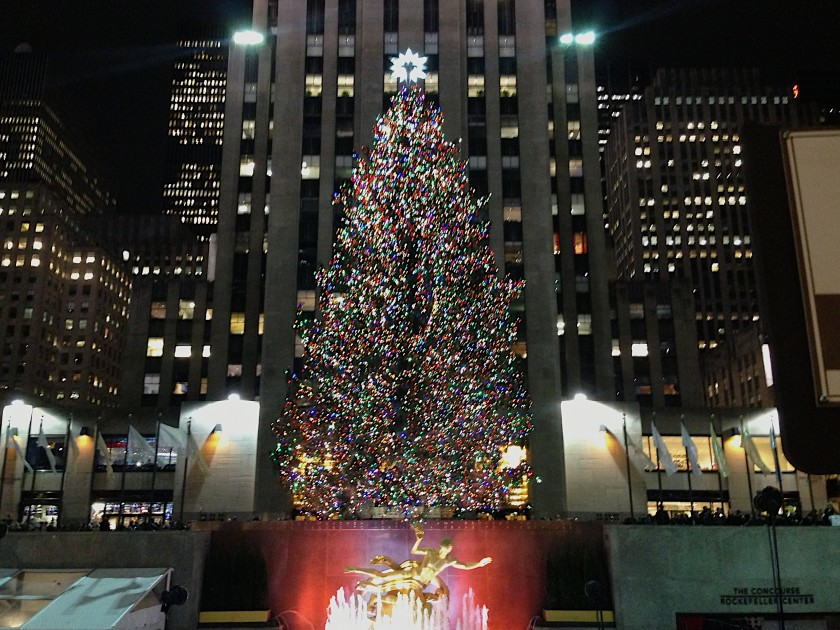 2012 Rockefeller Center Christmas Tree