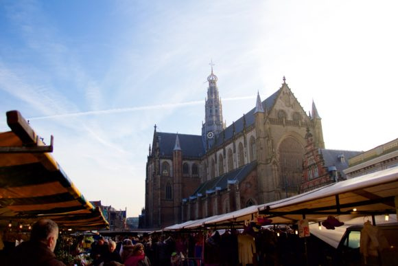 Grote Kerk During Market