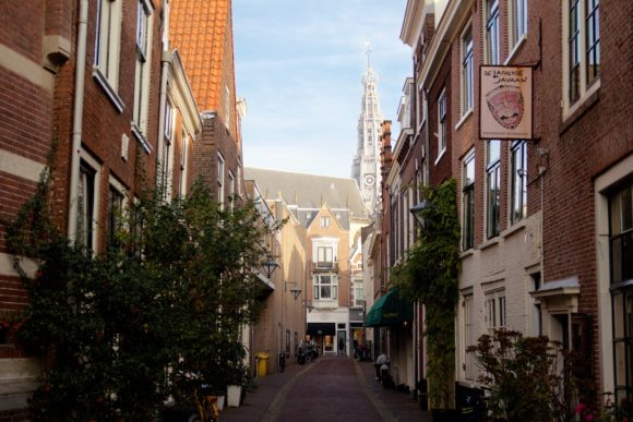Grote Kerk From Small Street