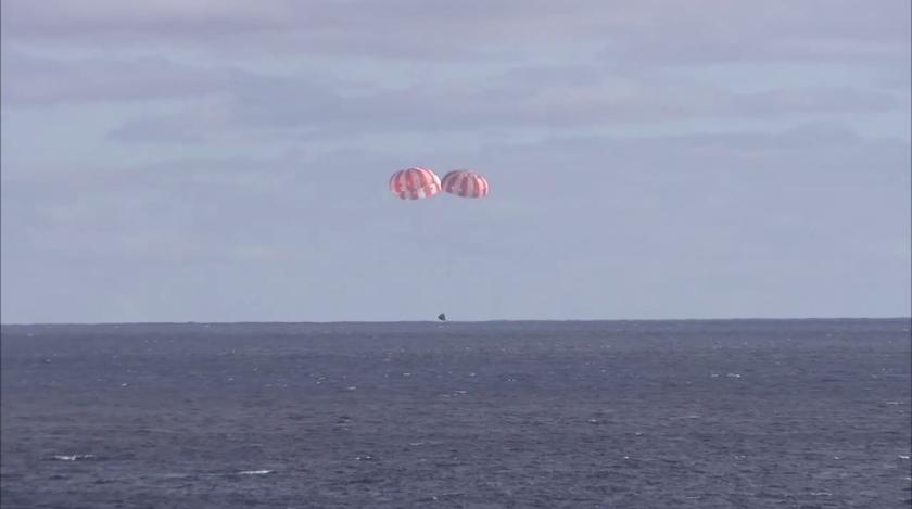 Orion Test Successful EFT-1