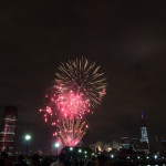 Fireworks From Liberty State Park